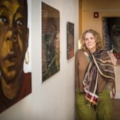 Mary DeWitt's Release: Portraits of Women Serving Life on view in Andover, MD