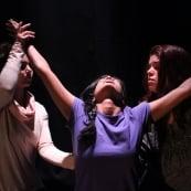 Sarah Mitteldorf and Kaleid Theatre Perform Scape-ing