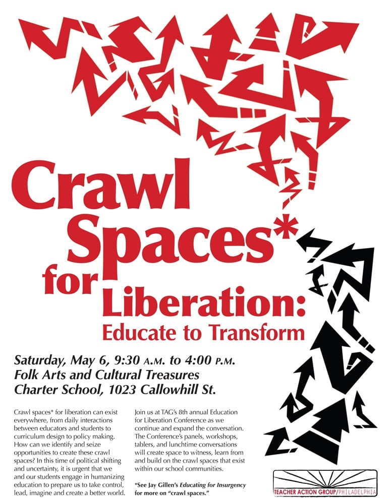 Crawl Spaces for Liberation