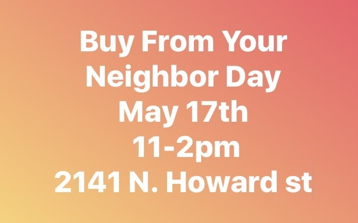 Buy From Your Neighbor Day