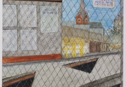 "Jennifer Baker's Exhibit ""Work in Progress"" at the Philadelphia Episcopal Cathedral"