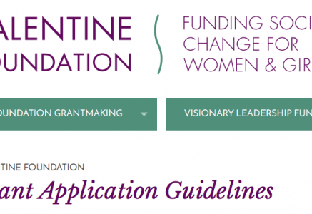 The Valentine Foundation Seeks Letters of Intent