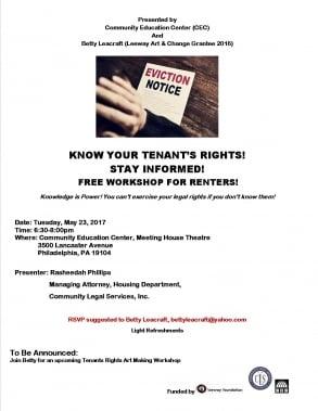 Tenants' Rights Workshop