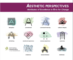 Animating Democracy Releases Aesthetic Perspectives: Attributes of Excellence in Arts for Change