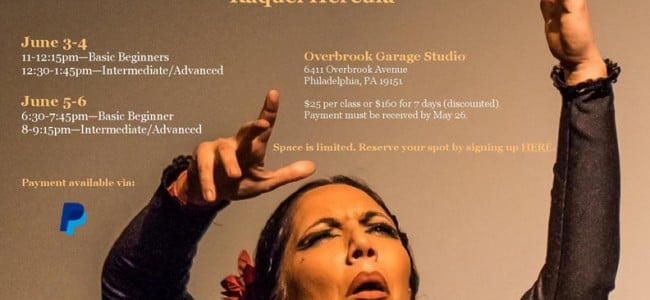 Flamenco Workshop with Raquel Heredia