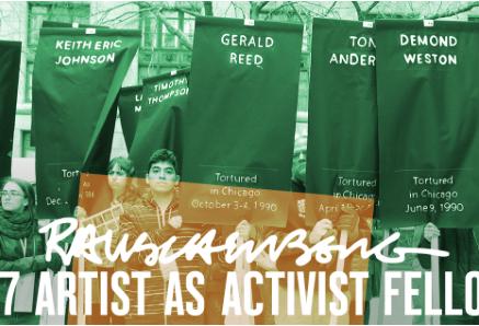 2017 Artist as Activist Fellows