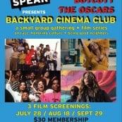 Boycott The Oscars Backyard Cinema Club