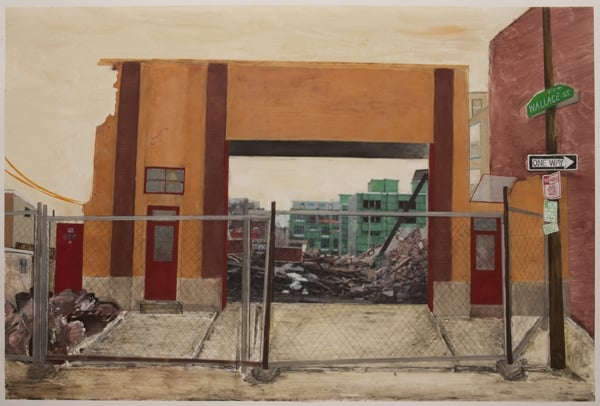 "Jennifer Baker's ""Northern Liberties"" Paintings and Monoprints at Crane Hall"