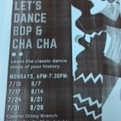Melissa Talley-Palmer Offers Free Bop and Cha Cha Dance Classes
