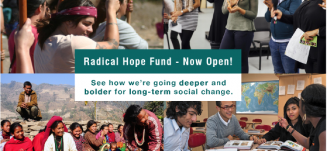 NoVo Foundation Seeks LOIs for Radical Hope Fund