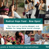 NoVo Foundation Seeks LOIs for Radical Hope Fund