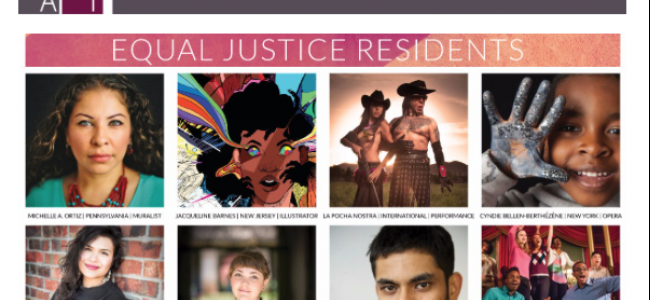Santa Fe Art Institute Announces its Equal Justice Residents