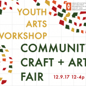 Youth Arts Workshop Community Craft and Art Fair