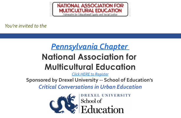 CFP: PA National Association for Multicultural Education Conference