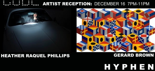 Hyphen Presents Code Artist Reception