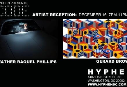 Hyphen Presents Code Artist Reception