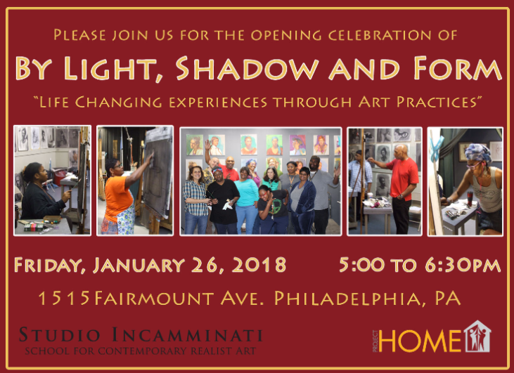 Opening Celebration of By Light, Shadow and Form at Project HOME