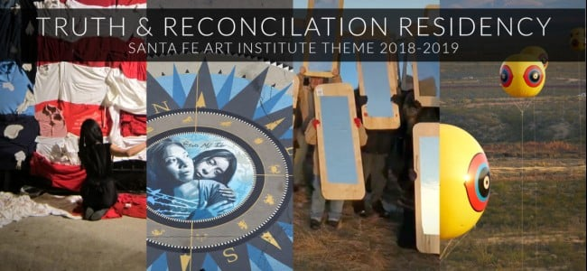 Santa Fe Art Institute Truth & Reconciliation Thematic Residency