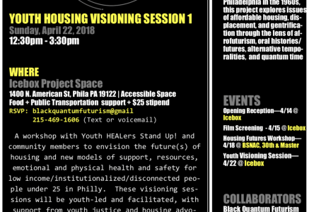 Black Quantum Futurism presents Youth Housing Visioning Session