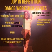 Shanel Edwards and Qunify present Joy in Repetition