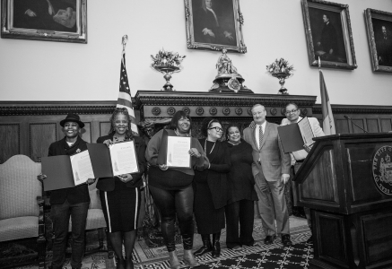 Women In Reentry Take on Philadelphia City Hall