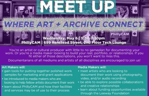 The Media/Maker Meet Up: Where Art + Archive Connect