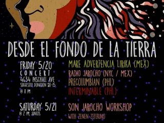 Leeway Co-Sponsors Desde el Fondo De La Tierra Hip-Hop & Poetry Workshop