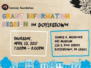 Grant Information Session in Doylestown