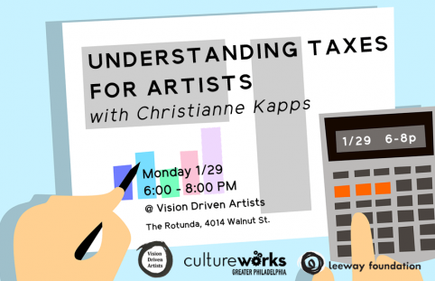 Understanding Taxes for Artists Hosted by Vision Driven Artists