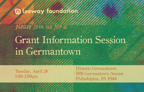 Grant Info Session at Historic Germantown
