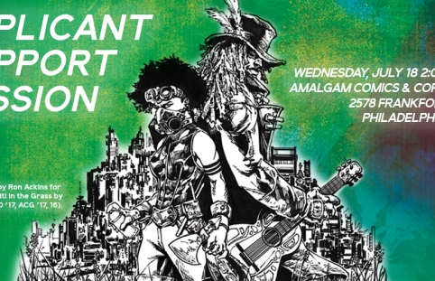Applicant Support Session at Amalgam Comics and Coffeehouse