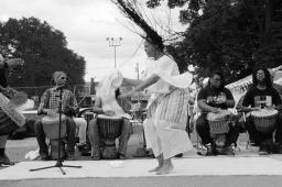A sadio w dancing drum tribute