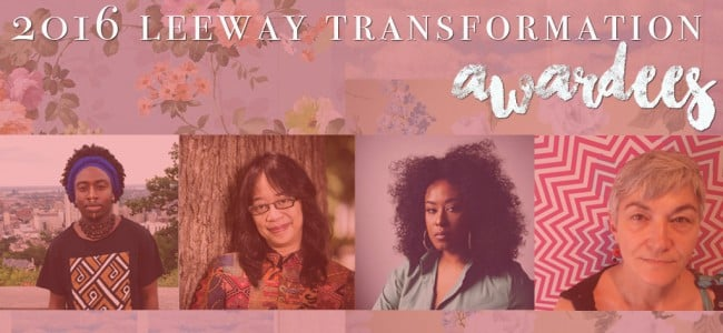 Leeway Foundation Awards 10 Philadelphia Artists with $15,000 Transformation Award