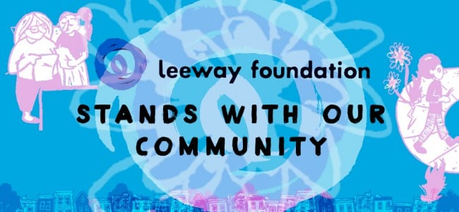 Leeway Foundation's Statement on Power and Values