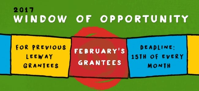 Announcing February's Window of Opportunity Grantees