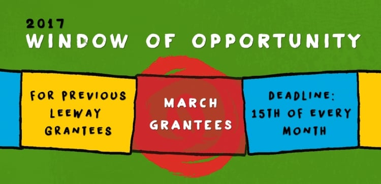 2017 Window of Opportunity - March Grantees