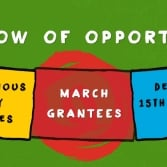 Announcing March's Window of Opportunity Grantees