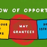 Announcing May's Window of Opportunity Grantees