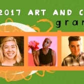 Leeway Foundation Announces Fall 2017 Art and Change Grantees