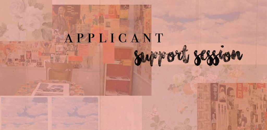 Applicant Support at PFP
