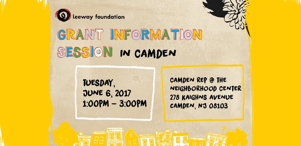 2017 Grant Info Session in Camden