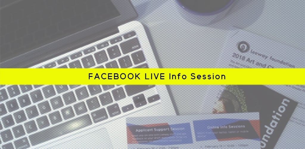 Facebook LIVE Info Session